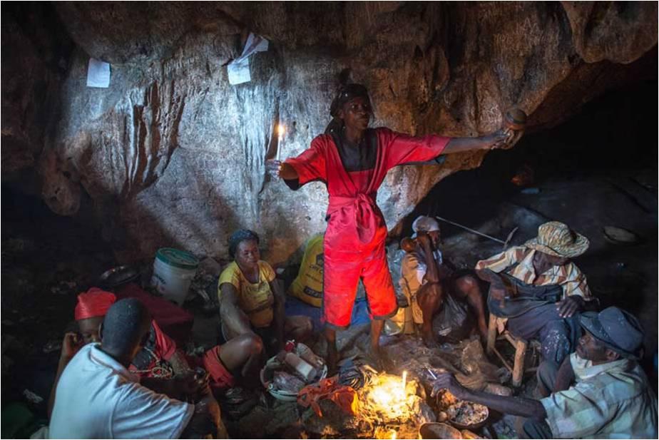 Voodoo in haiti, Custom paper Sample - tete-de-moine com